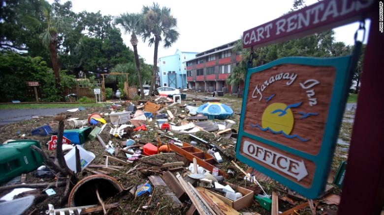 L'uragano Hermine devasta la costa orientale degli Stati Uniti