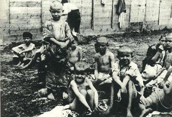 bambini ebrei nei campi di concentramento