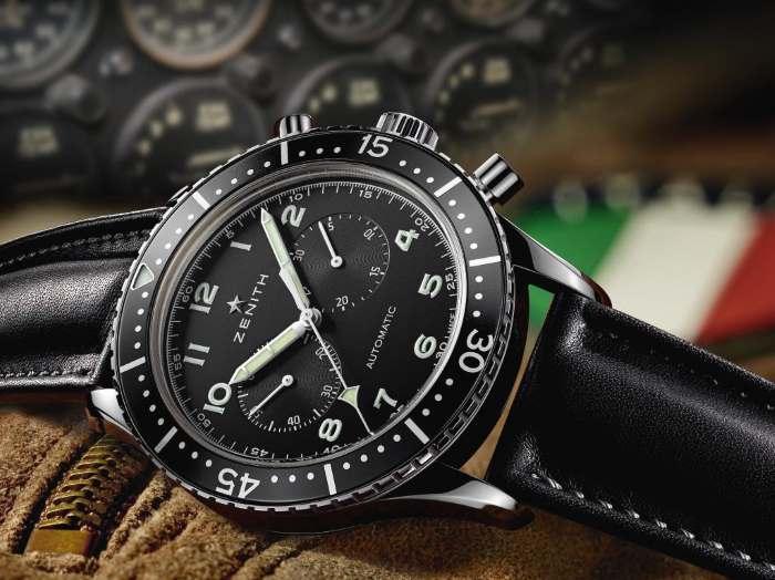 Zenith presenta l'Heritage Tipo CP-2, un omaggio per celebrare una serie prodotta per la Marina e l'Aeronatica dell'Italia