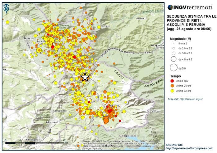 È arrivato a 268 il numero dei morti del terremoto del 24 agosto