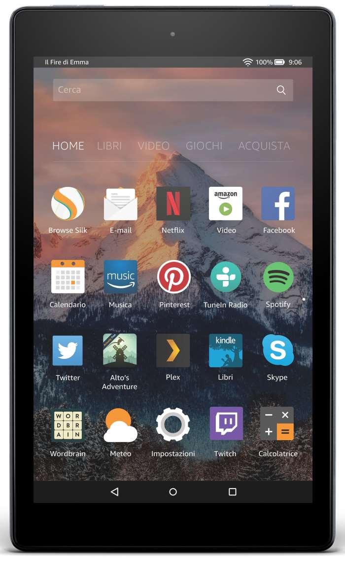 Amazon annuncia l'uscita dei nuovi tablet Fire 7 e Fire HD 8