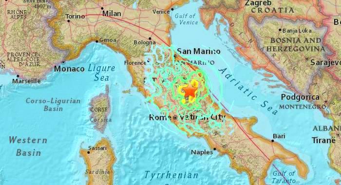 Aggiornamenti sul terremoto in Italia centrale
