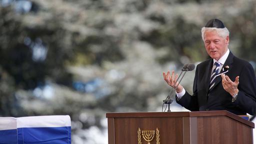 I funerali di Shimon Peres a Gerusalemme. Presenti leader da tutto il mondo