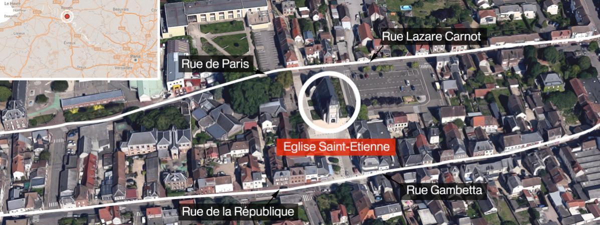 Sgozzato un prete in Francia. I due terroristi appartengono allo Stato Islamico