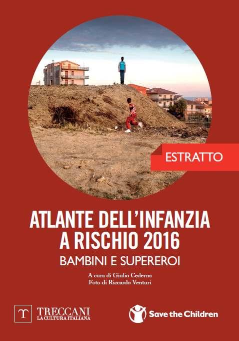 L'Italia sognata da Renzi e quella vera illustrata da Save the Childern
