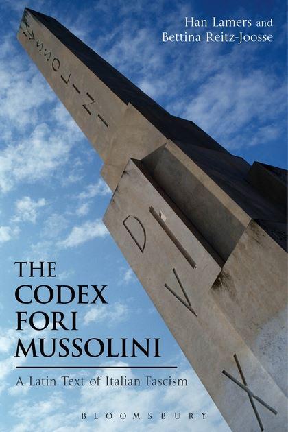 Messaggio di Mussolini ai posteri sotto l'obelisco del Foro Italico