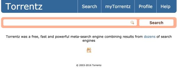 Chiusura a sorpresa di Torrentz, il più grosso motore di ricerca per file torrent