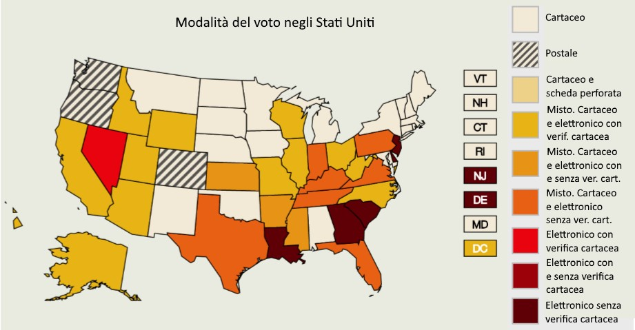 Grazie al voto elettronico, gli hacker potrebbero falsare il risultato delle elezioni Usa