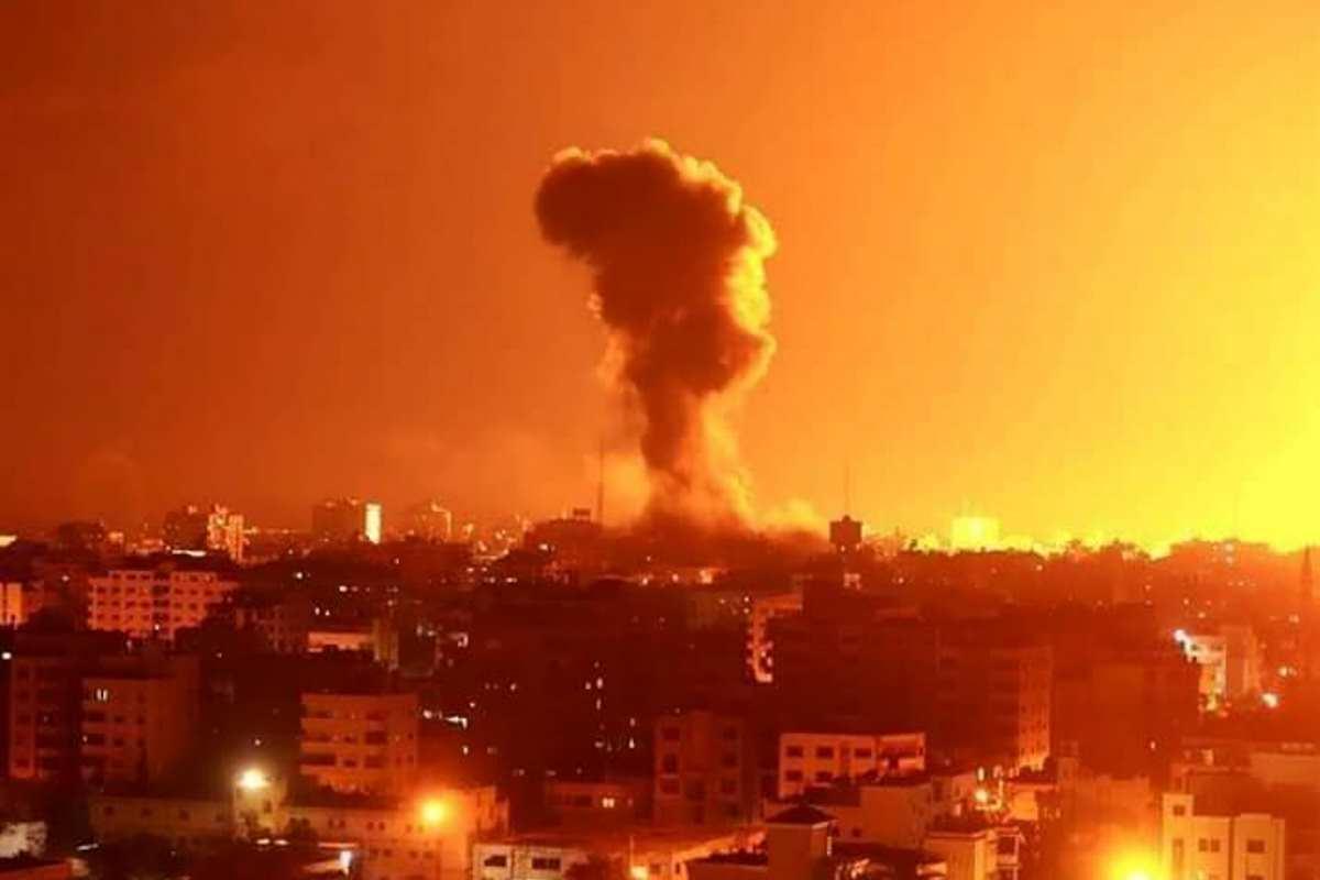 Un razzo è stato lanciato dalla striscia di Gaza verso Israele