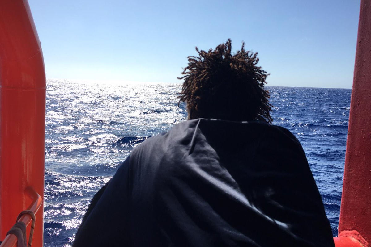 Ocean Viking, medico: