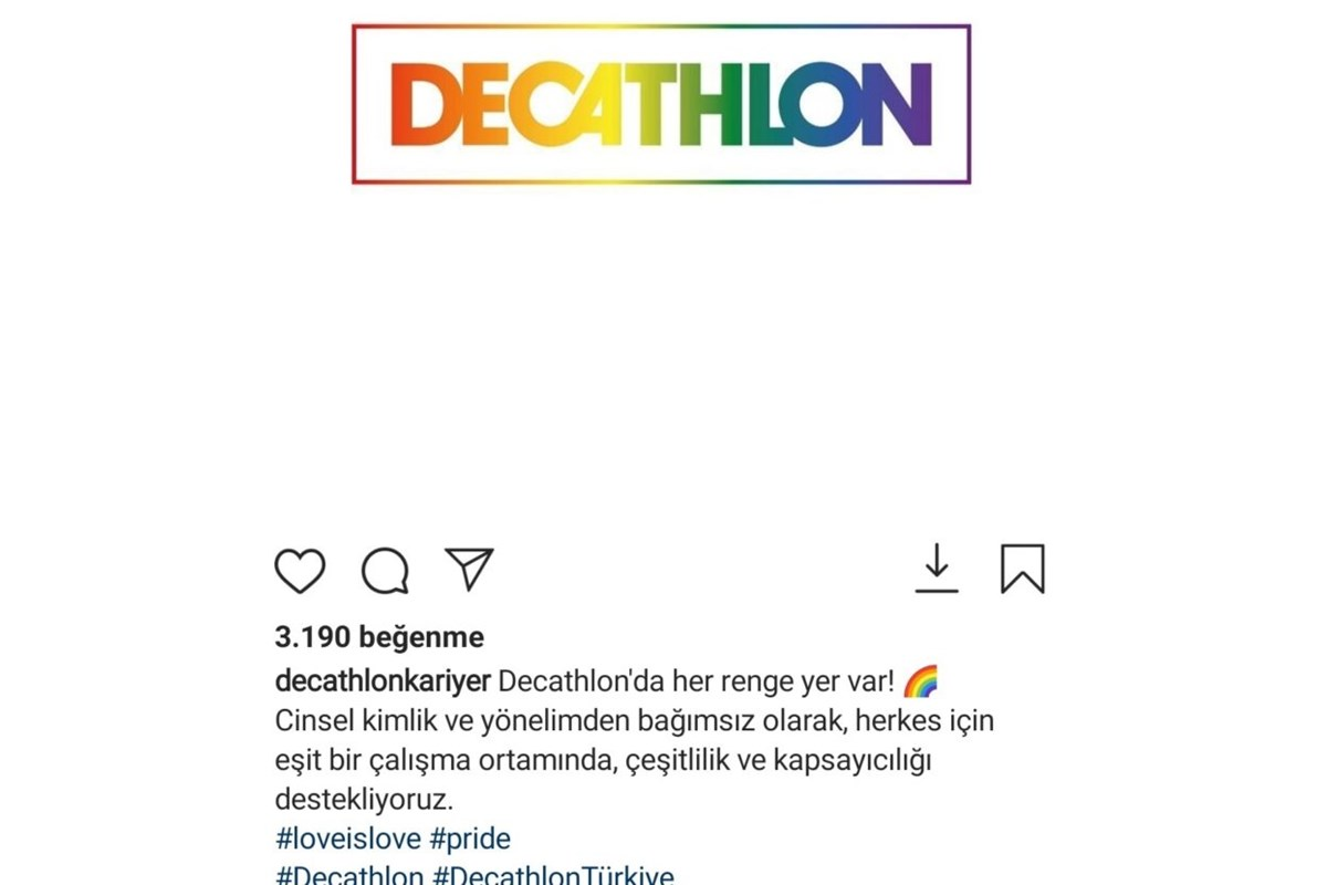 Decathlon Turchia Sotto accusa per un post pro LGBT+