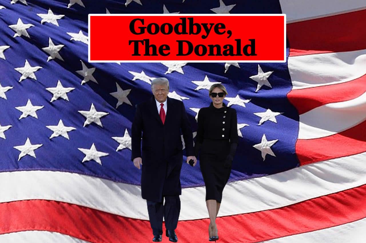 Trump lascia con una promessa: