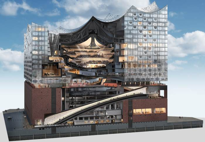 Inaugurata ad Amburgo la Elbphilharmonie