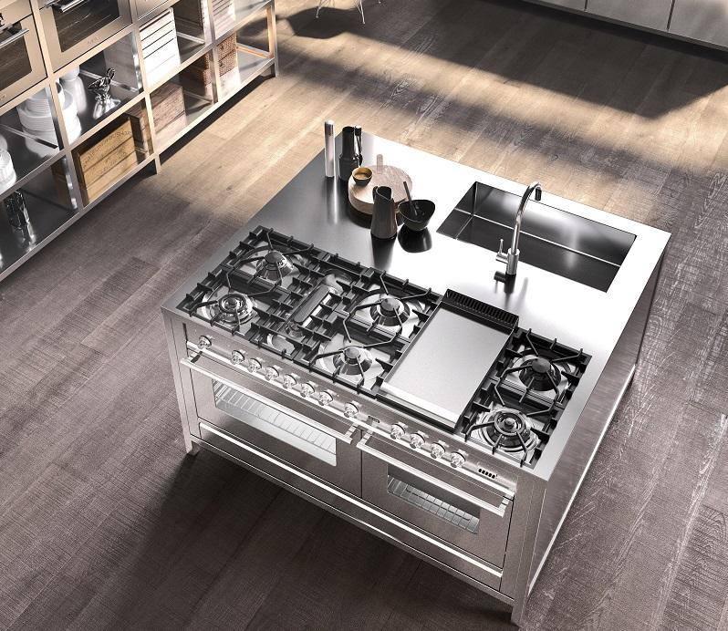L 39 acciaio inox in cucina cos la cucina professionale di - Cucine professionali da casa ...