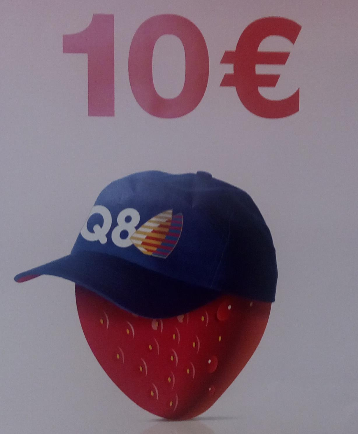 Buono benzina Q8 da 10 euro