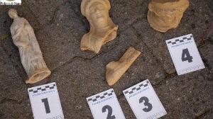 Enna. Sui 254 reperti archeologici sequestrati le indagini continuano