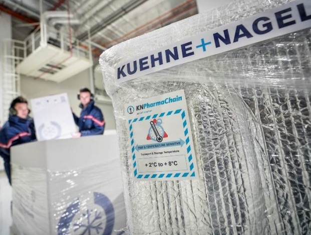 Kuehne + Nagel growth momentum accelerated; all business units recorded significant market share gain | Logistics