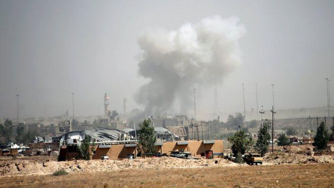 Iraq: Forze irachene riprendono municipio città di Falluja » Guerre nel Mondo