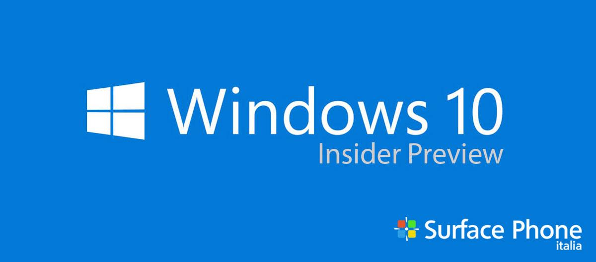 Microsoft chiede aiuto agli Insider (fast ring) | Surface Phone Italia