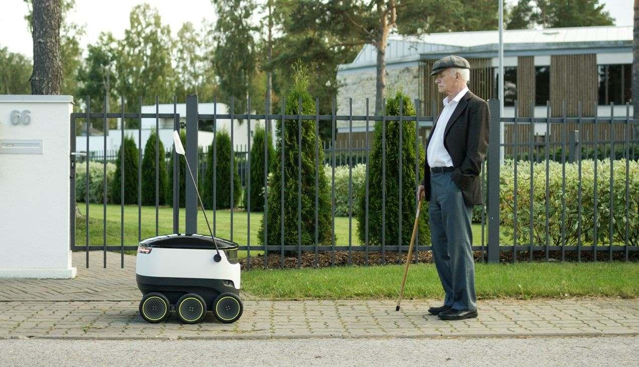 Robot senza conducente effettuano consegne in Svizzera, Germania e Gran Bretagna