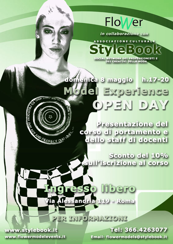 Oggi a Roma Open Day Model Experience