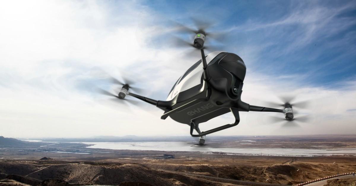 A Dubai parte il test per il primo taxi drone volante adibito al trasporto pubblico di persone