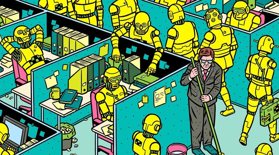 Paura che un robot vi rubi il lavoro? Uno studio vi spiega come proteggere la poltrona