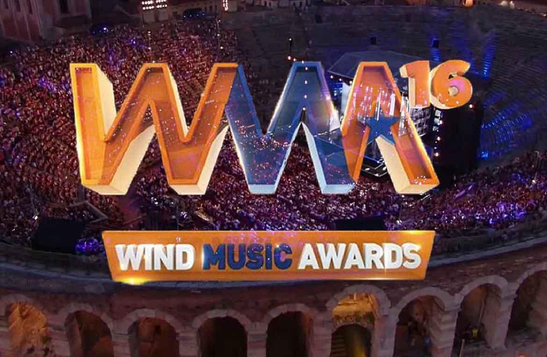 La seconda serata celebrativa dei 10 anni del Wind Music Awards