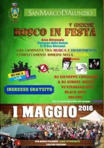 """A San Marco d'Alunzio la V edizione del """"Bosco in festa"""""""