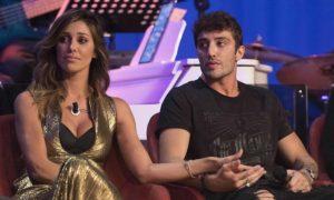 La prima volta di Belen Rodriguez e Andrea Iannone in tv: ospiti del Maurizio Costanzo Show