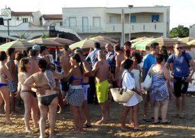 Uomo aggredito in spiaggia a Tre Fontane. Carabinieri sul posto