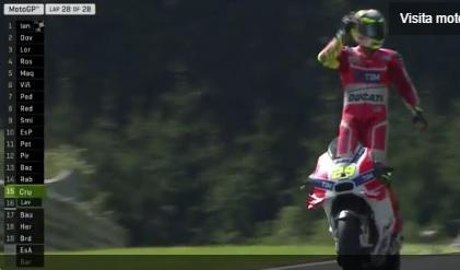 Iannone vince il Gp d'Austria davanti al compagno di squadra Dovizioso