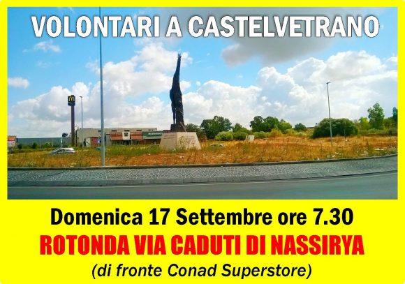 Continua l'opera dei temerari volontari di Castelvetrano