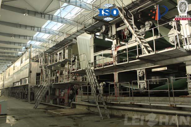 10TPD kraft Paper Making Line