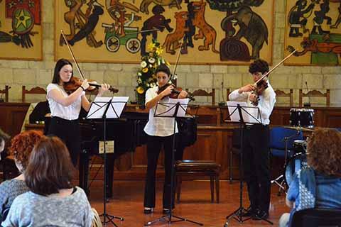 La carica dei 1200 ragazzi al Concorso Musicale Internazionale Città di Tarquinia