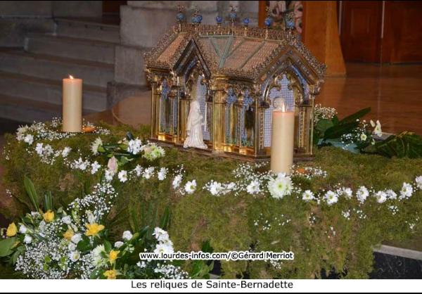 La paroisse et le sanctuaire fêtent la Sainte-Bernadette