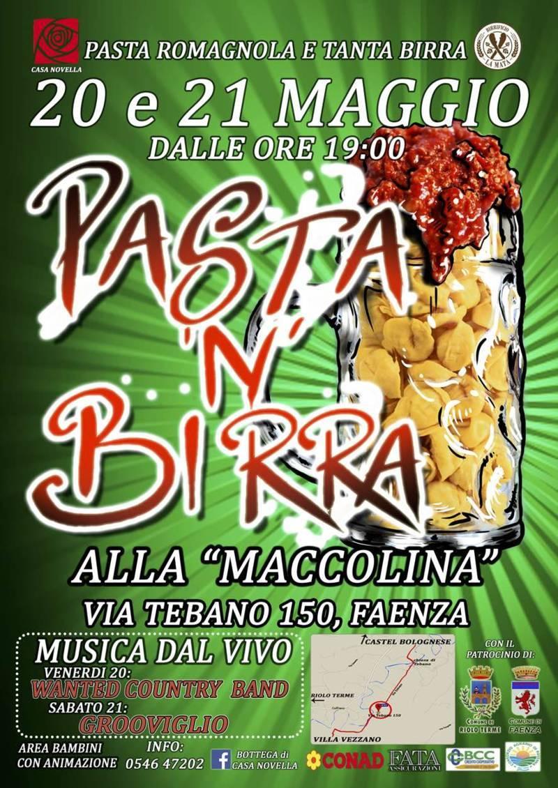 Tebano: In festa con Pasta 'N' Birra al centro La Maccolina che fa parte dell'opera di Casa Novella,...