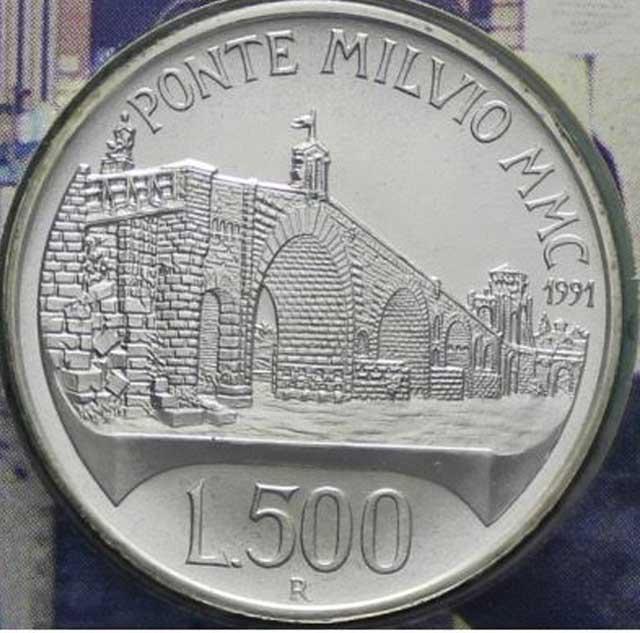 Quando Ponte Milvio diventò d'argento