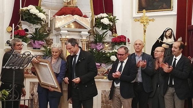 "Enna. Premio ""Tornabene"" ai coniugi Guida"