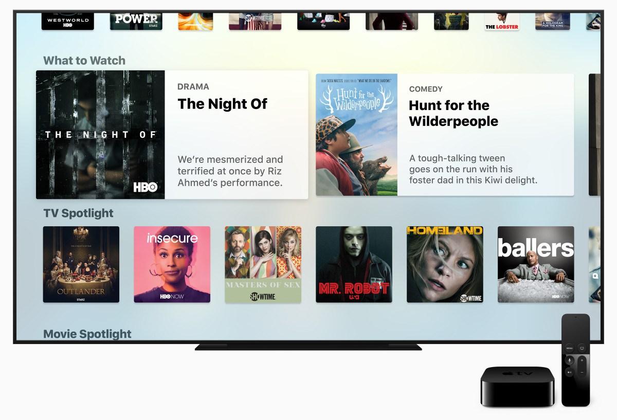 Apple lancia la nuova app TV. Tim Cook: «Il futuro della tv sono le app»