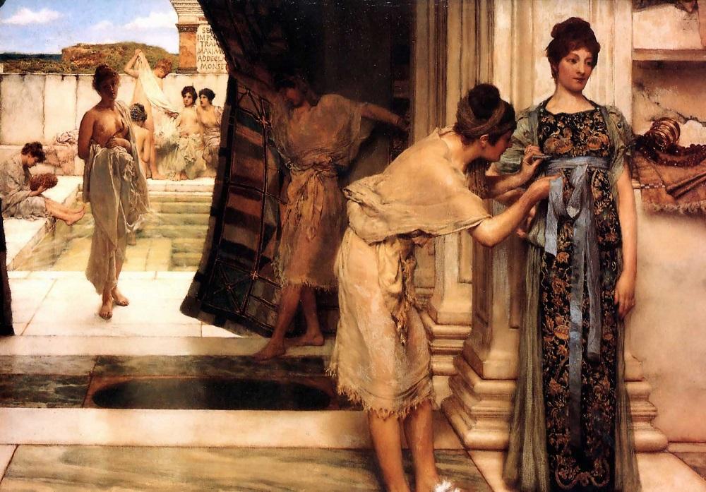 Nell'antichità come si lavavano?
