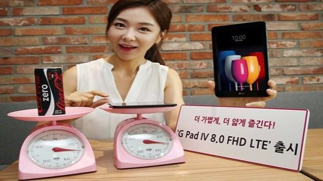 LG G Pad IV 8.0, tablet basico con FHD da 8 pollici e selfiecam da 5 mpx