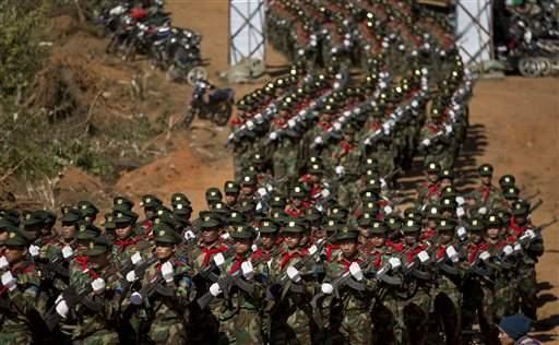 Birmania-Myanmar: Esercito si scontra con ribelli Esercito di Liberazione Nazionale Ta'ang (TNLA) ne