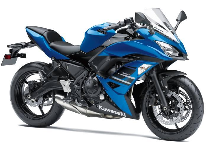 Kawasaki Ninja 650 e #z650, a breve disponibili i modelli 2018