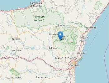 Terremoto ML 2.0 il 18-09-2017 ore 06:14 a 10 km SE Bronte (CT)