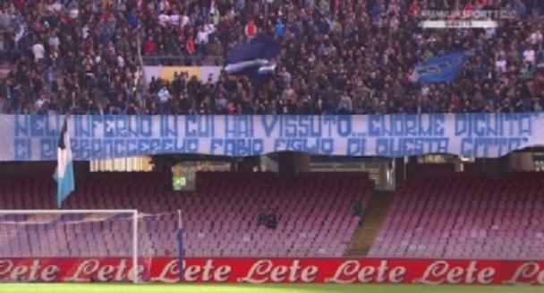 I tifosi del Napoli abbracciano Quagliarella: vogliono il ritorno