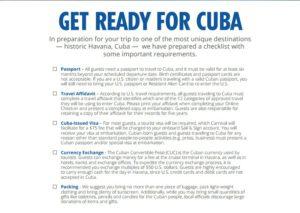 Navi da crociera statunitensi approdano a Cuba