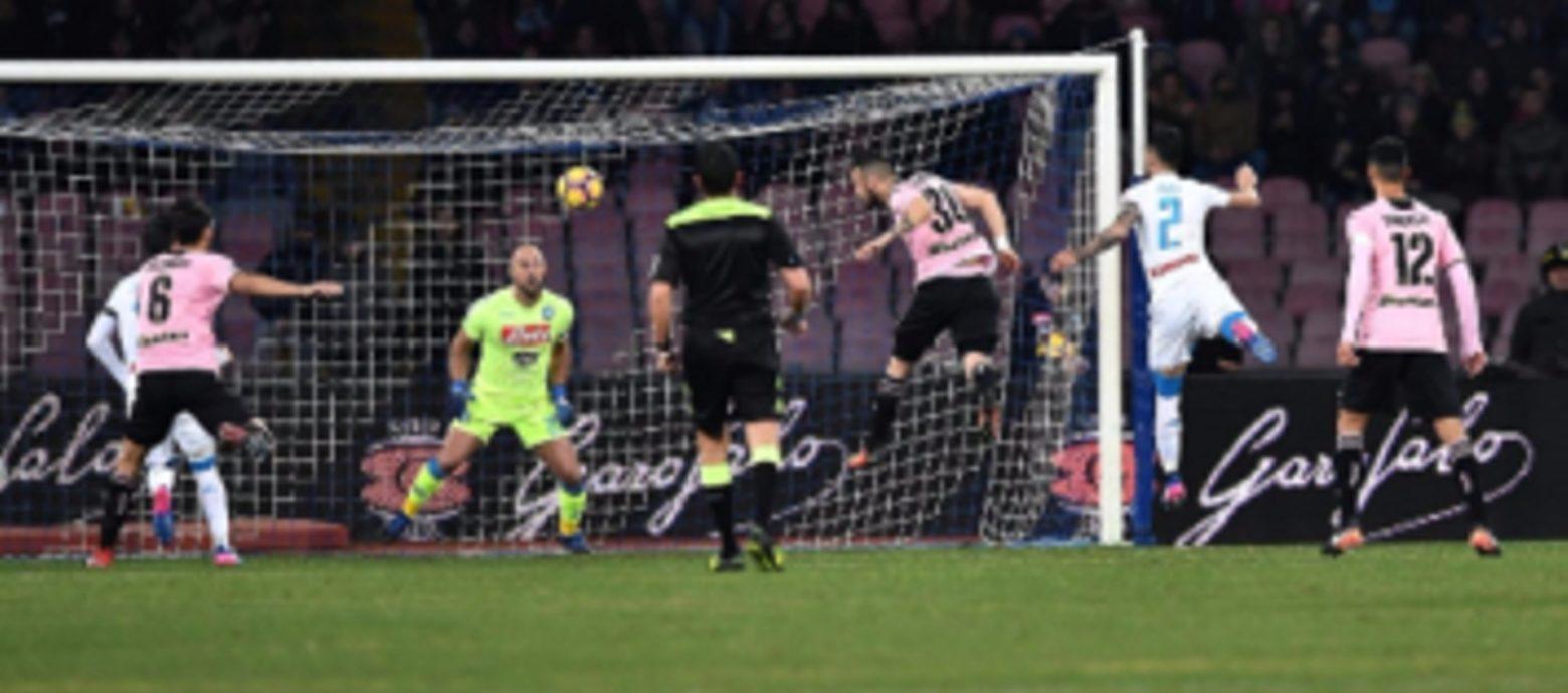 SERIE A. Napoli - Palermo 1-1. Niente 2° posto per i partenopei