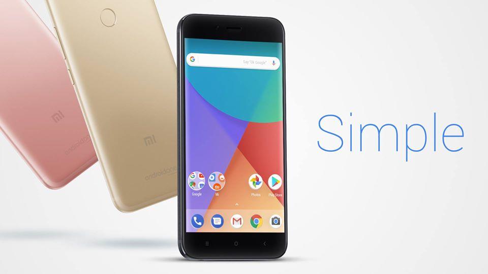 Xiaomi MI A1, presentato il primo smartphone con Android One