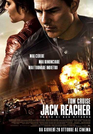 Recensione di Jack Reacher Punto di non Ritorno, Tom Cruise back in action